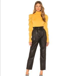 Revolve L'Academie Mustard Yellow Larra Sweater